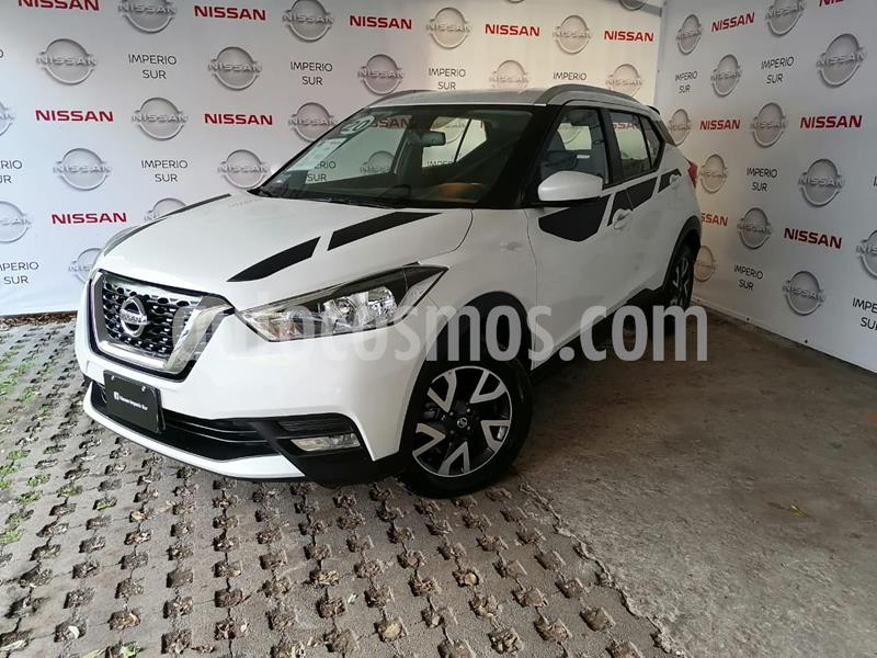 Nissan Kicks Sense usado (2020) color Blanco Perla precio $295,000
