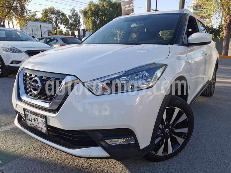 Nissan Kicks Advance Aut usado (2018) color Blanco Perla precio $250,000