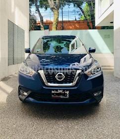 Nissan Kicks Exclusive Aut usado (2018) color Azul Cobalto precio $265,000