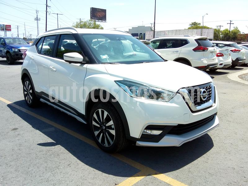 Nissan Kicks Exclusive Aut usado (2020) color Blanco precio $385,000