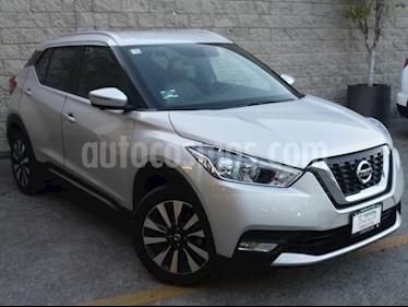 Nissan Kicks 5P EXCLUSIVE L4/1.6 AUT usado (2018) color Plata precio $280,000
