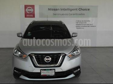 Nissan Kicks 5P ADVANCE L4/1.6 AUT usado (2017) color Plata precio $275,000