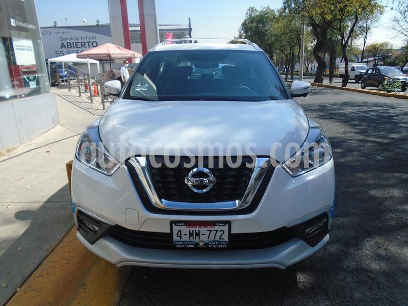 Nissan Kicks Exclusive Aut usado (2020) color Blanco precio $379,900
