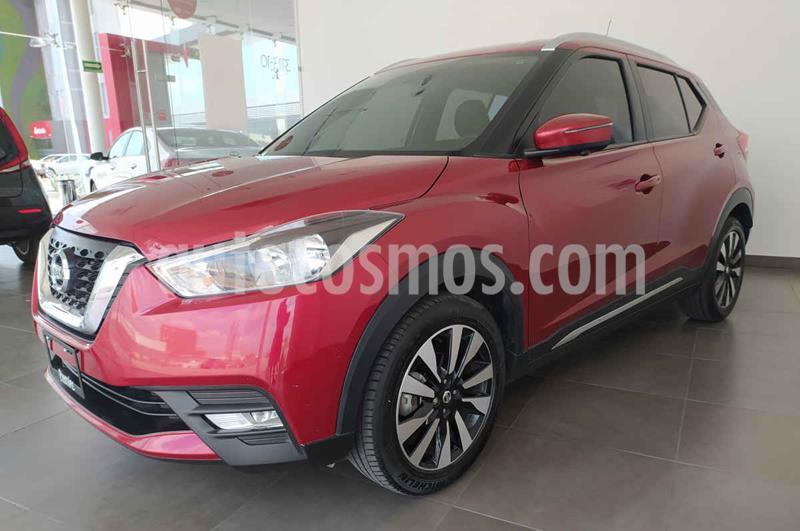 Nissan Kicks Exclusive Aut usado (2018) color Rojo precio $280,000