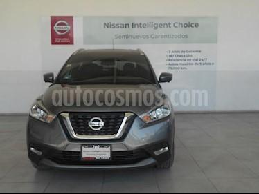 Nissan Kicks 5P EXCLUSIVE L4/1.6 AUT usado (2017) color Gris precio $279,000