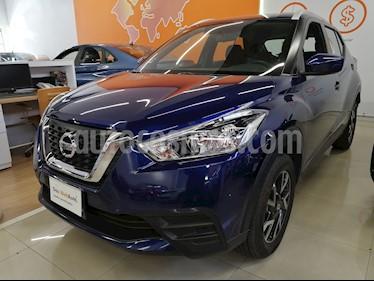 Nissan Kicks Sense usado (2019) color Azul Cobalto precio $258,000