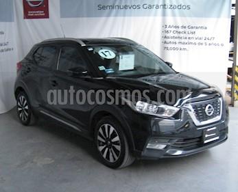 Nissan Kicks Exclusive Aut usado (2017) color Negro precio $220,000