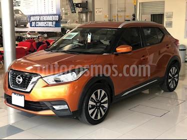Nissan Kicks Exclusive Aut usado (2018) color Naranja precio $299,000