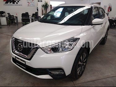 Nissan Kicks Advance Aut usado (2018) color Blanco Perla precio $279,000