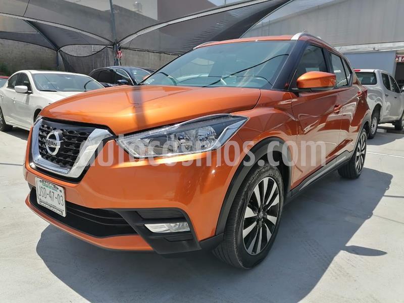 Nissan Kicks Advance Aut usado (2018) color Naranja precio $264,900