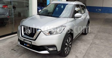 Nissan Kicks 5p Advance L4/1.6 Aut usado (2019) color Plata precio $258,900