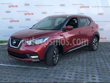 Nissan Kicks Exclusive Aut usado (2017) color Vino Tinto precio $249,800
