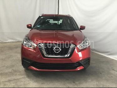 Foto venta Auto usado Nissan Kicks Sense (2018) color Rojo precio $245,000