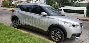 Nissan Kicks Sense usado (2018) color Plata precio $233,000