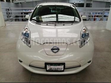 Foto venta Auto usado Nissan Leaf 5p Electrico 24 kwh/90 kw (2015) color Blanco precio $320,000