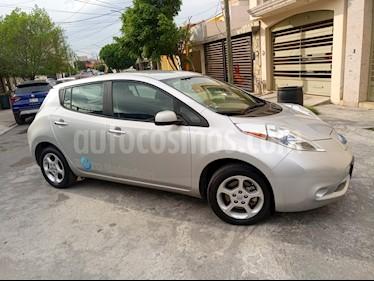foto Nissan Leaf 24 kW usado (2016) color Plata precio $325,000