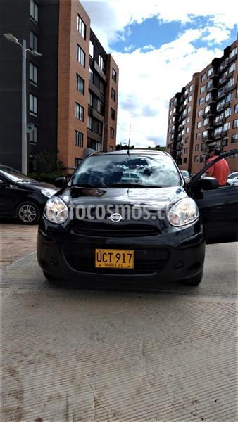 Nissan March Active Advance usado (2015) color Negro precio $24.490.000