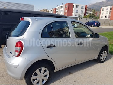 Nissan March 1.6L Active usado (2016) color Plata precio $5.000.000