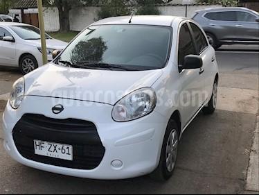 Nissan March 1.6L Active usado (2015) color Blanco precio $4.800.000