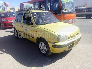 Foto venta Auto usado Nissan March 1.6L Advance Aut  (1996) color Verde precio $6,500