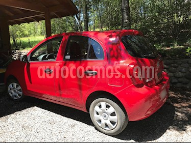 Nissan March 1.6L Drive usado (2017) color Rojo precio $5.100.000