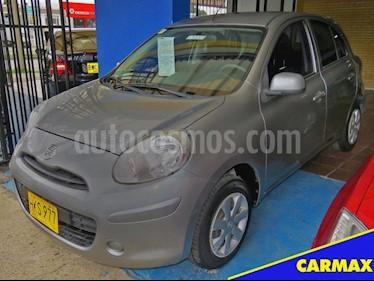 Foto venta Carro usado Nissan March 2014 (2014) color Gris precio $24.900.000
