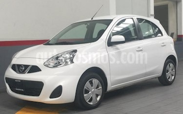 Foto venta Auto usado Nissan March 5p Active L4/1.6 Man A/A (2018) color Blanco precio $144,000