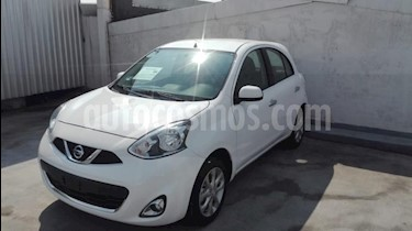 Foto Nissan March 5p Advance L4/1.6 Aut Navi usado (2018) color Blanco precio $214,900