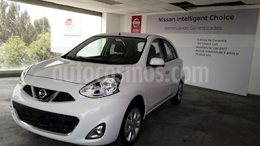 Foto venta Auto usado Nissan March 5p Advance L4/1.6 Aut Navi (2018) color Blanco precio $214,900