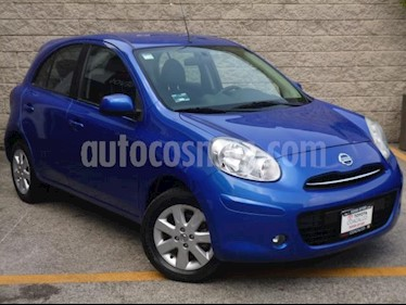 Nissan March 5p Advance L4/1.6 Aut usado (2013) color Azul precio $110,000