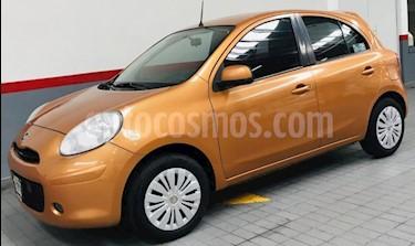 Foto venta Auto usado Nissan March 5p Advance L4/1.6 Aut (2013) color Naranja precio $113,000