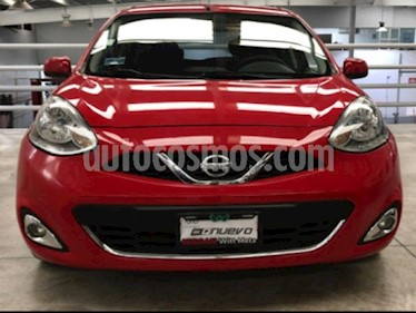 Foto Nissan March 5p Advance L4/1.6 Aut usado (2016) color Rojo precio $140,000