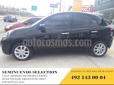 Foto venta Auto usado Nissan March 5p Advance L4/1.6 Aut (2018) color Negro precio $185,000