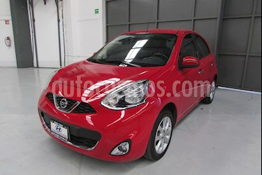 Foto venta Auto usado Nissan March 5p Advance L4/1.6 Aut (2017) color Rojo precio $170,000