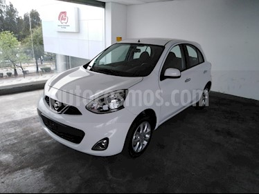 Foto venta Auto usado Nissan March 5p Advance L4/1.6 Man (2018) color Blanco precio $185,000