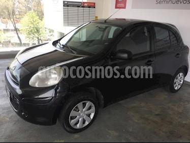 Foto venta Auto usado Nissan March 5p Drive L4/1.6 Man Sin AC (2013) color Negro precio $98,000