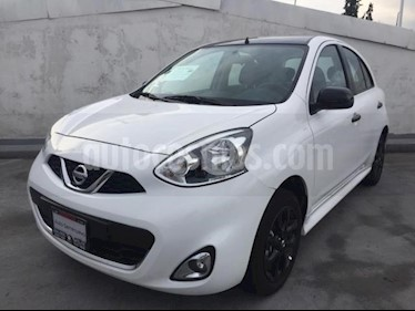 Foto Nissan March 5p Exclusive L4/1.6 Aut usado (2019) color Blanco precio $225,900