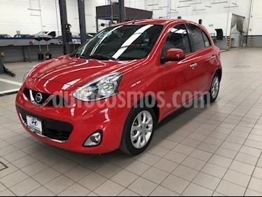 Foto Nissan March 5P HB ADVANCE TM5 A/AC. DA BA CD RA-15 usado (2015) color Rojo precio $135,000