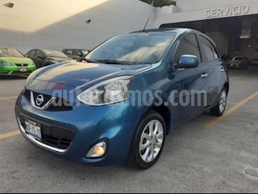Foto Nissan March 5P HB ADVANCE Y UNLIMITED TM5 A/AC. DA BA CD RA-1 usado (2016) color Azul precio $148,000