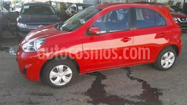 Foto venta Auto usado Nissan March 5p Sense L4/1.6 Man (2018) color Rojo precio $155,000
