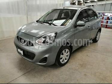 Foto venta Auto usado Nissan March 5p Sense L4/1.6 Man (2014) color Plata precio $120,000