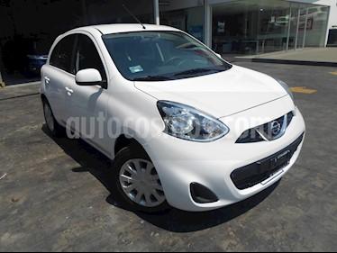 Foto venta Auto usado Nissan March 5p Sense L4/1.6 Man (2018) color Blanco precio $155,000