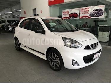 Foto venta Auto usado Nissan March 5p SR L4/1.6 Man (2018) color Blanco precio $179,000
