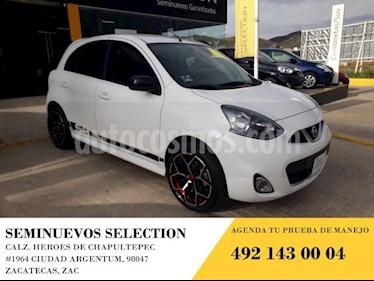 Foto venta Auto usado Nissan March 5p SR L4/1.6 Man (2018) color Blanco precio $195,000