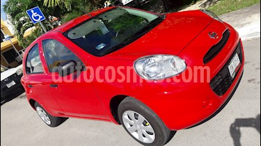 Foto Nissan March Active ABS usado (2018) color Rojo precio $133,000