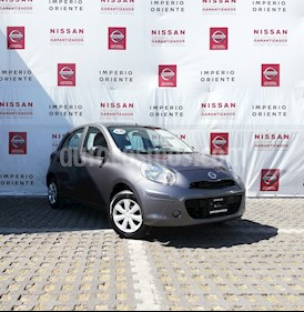 Foto venta Auto usado Nissan March Active Aire Ac (2018) color Gris Oxford precio $144,000