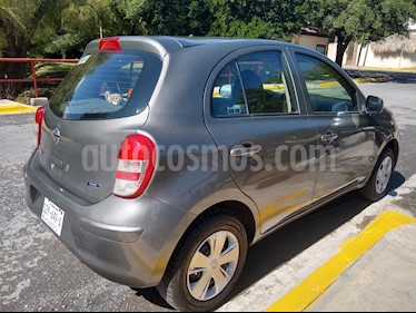 Foto Nissan March Active Aire Ac usado (2016) color Gris Oxford precio $90,000