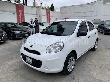 Foto venta Auto usado Nissan March Active Cargo Aire Ac (2018) color Blanco precio $145,000