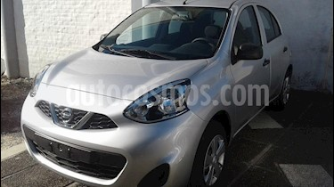 Foto Nissan March Active usado (2019) color Gris Claro precio $620.000