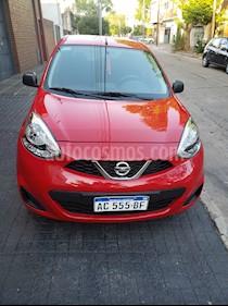 Nissan March Active usado (2018) color Rojo precio $520.000